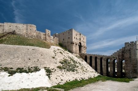 알레포 요새 측면도 에디토리얼