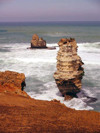 serrated: Great Ocean Road Coast