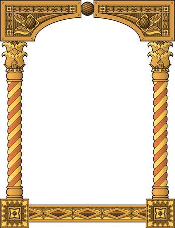 pagan: Cadre traditionnel de colonne