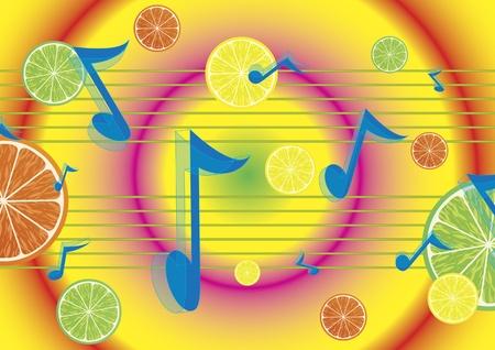 Juicy melody Vector