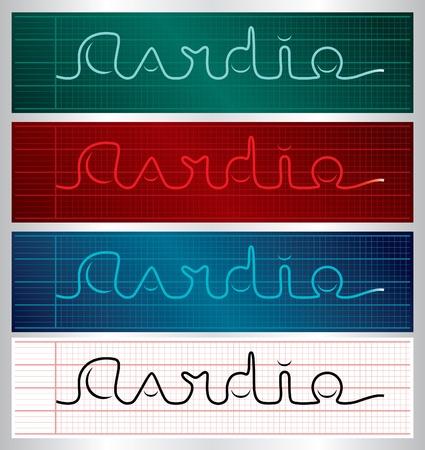 Cardio logo Stock Vector - 10098391
