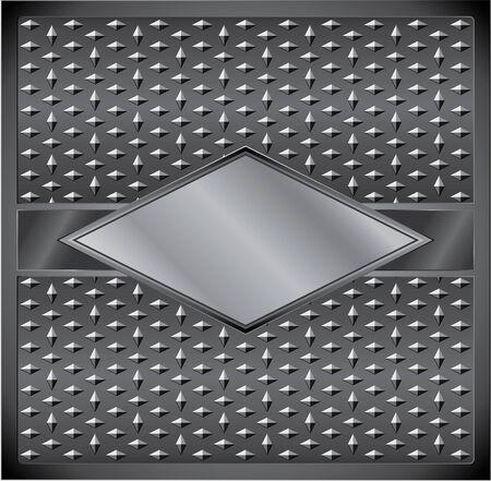 Rhombus frame Stock Vector - 10184920