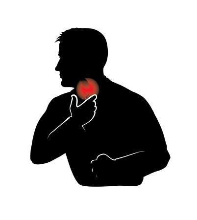아픈: 후두염