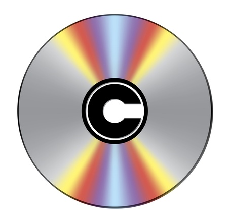Copyright marked CD Vector