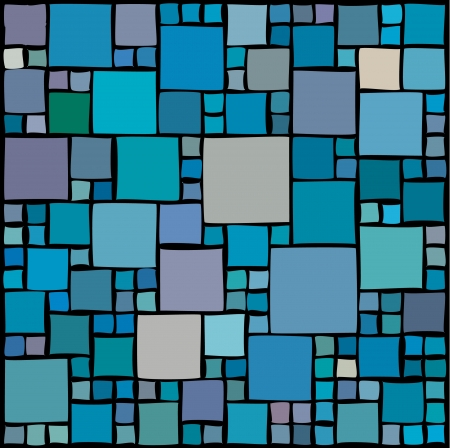 repeat square: Random squares Illustration