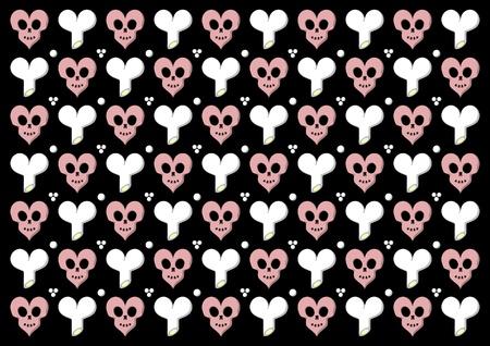 Emo gothic valentine wrapper