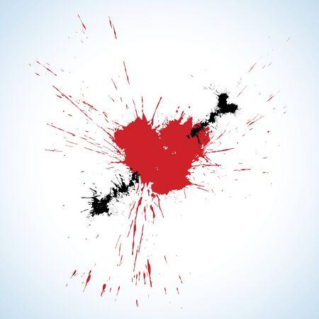 inky: Inky heart