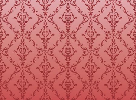 Floral wallpaper Stock Vector - 10300530