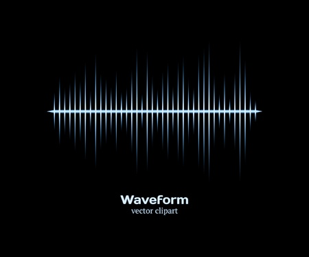 waveform: Ice Cold forme d'onde Illustration
