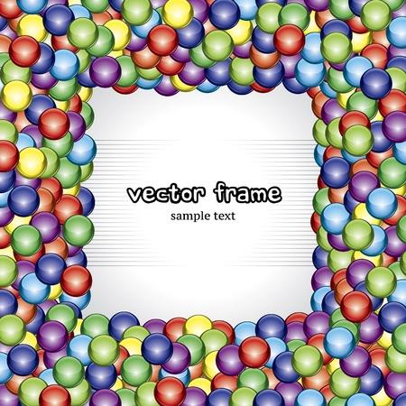 Ball frame Stock Vector - 10369261
