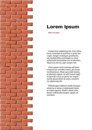 Brick identity Vector