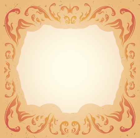 tender: Tender ornamental frame