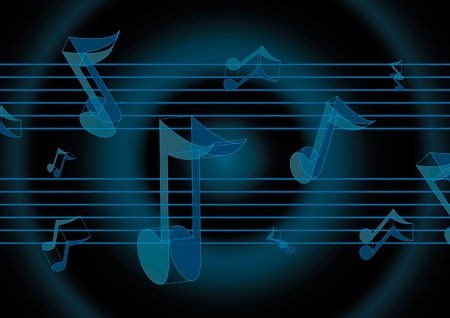 conservatory: Music notes