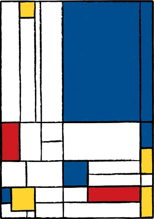 perpendicular: Pittura cubista