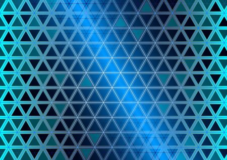 Glass triangles background Stock Vector - 10739190