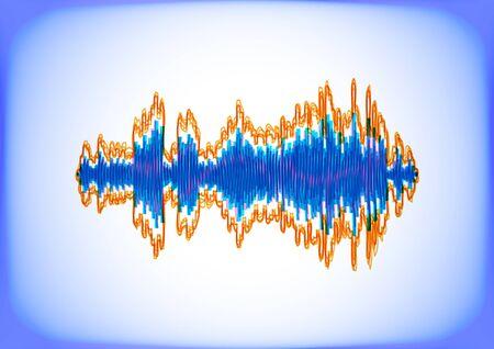Electric waveform Stock Vector - 10979865