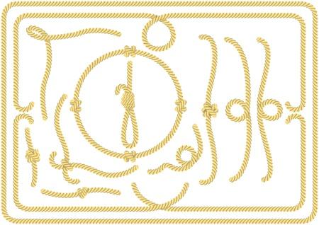 Conjunto de elementos de cuerda