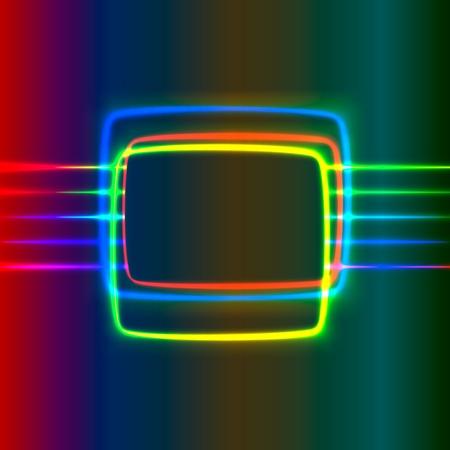 Abstract shiny screen Vector