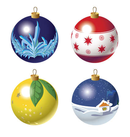babble: Christmas baubles