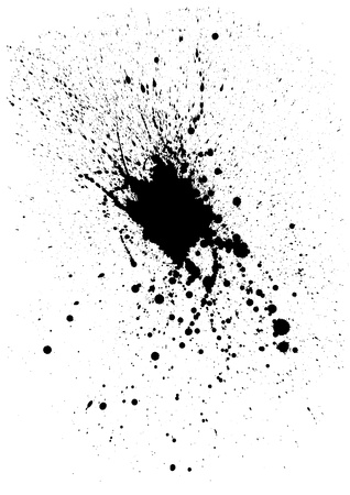 spatter: Ink splash