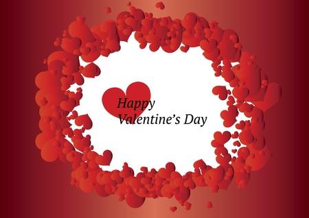 day saint valentin: Valentines frame