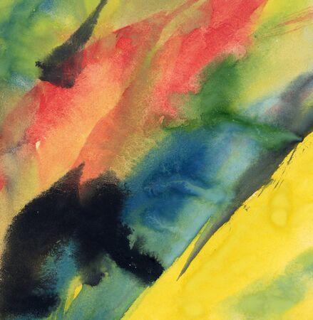 aquarel: Paint stains
