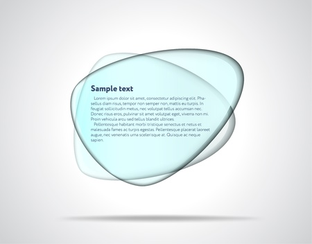 Smooth glass plates Vector
