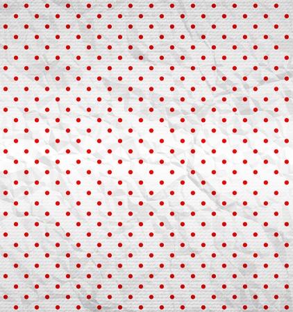 Polka dot pattern on textured surface Ilustrace