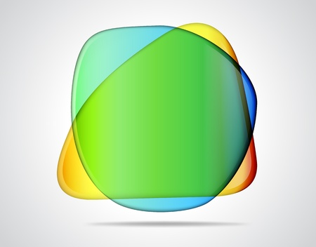 shingle: Colorful glass placeholders