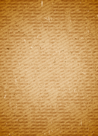 Old grungy rugged and scratched cardboard background Vector