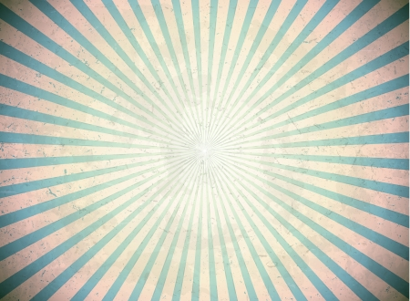 Vintage sun rays Illustration