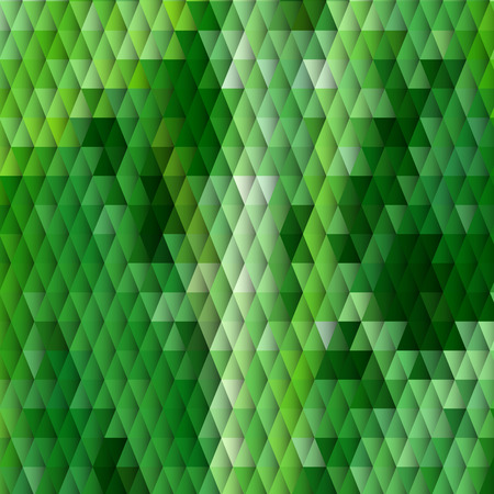 Grass themed blurry background with diamond grid Vector