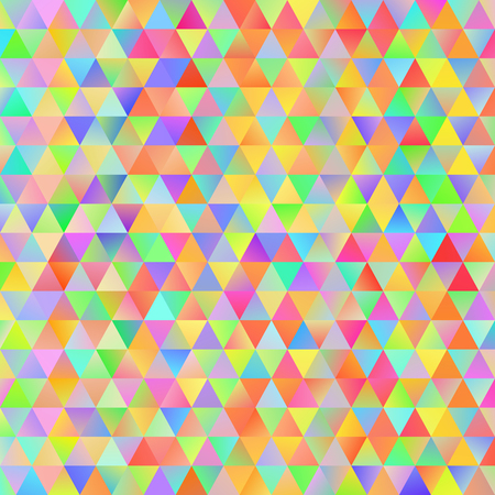 grid pattern: Digital colorful pattern with messy triangles grid Illustration
