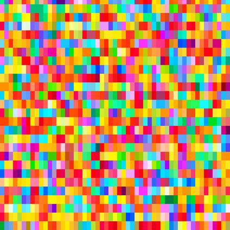Digitale bunte Muster mit chaotischen Pixel Raster