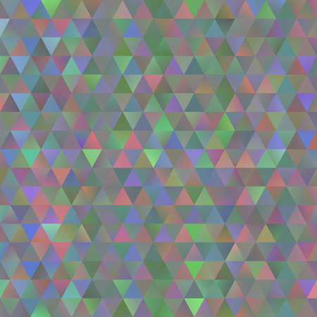 messy: Digital colorful pattern with messy triangles grid Illustration
