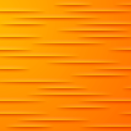orange cut: Abstract vector background with orange cut paper layers