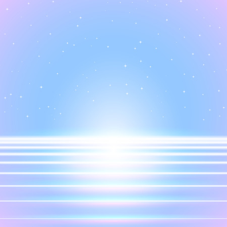Bright neon lines background with 80s style 免版税图像 - 47497450