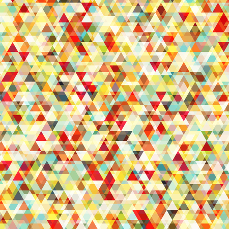 pattern background: Abstract background with messy triangular polygons pattern Illustration