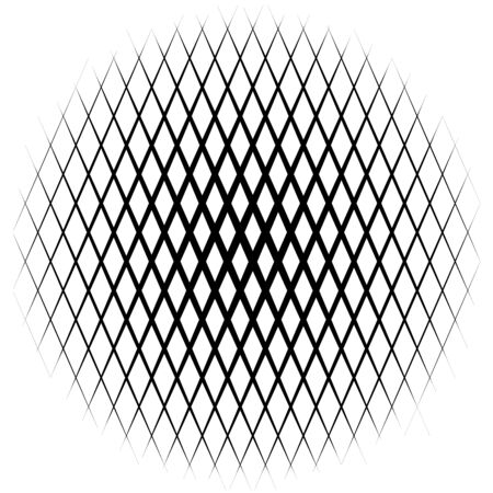 grid background: Background with gradient of diamond shaped grid Illustration