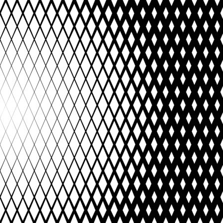 grid paper: Background with gradient of diamond shaped grid Illustration
