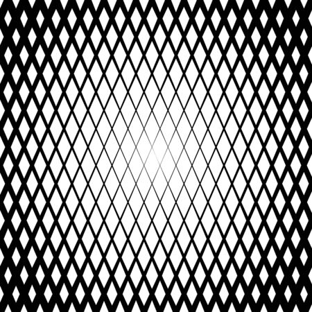 diamond shaped: Background with gradient of diamond shaped grid Illustration