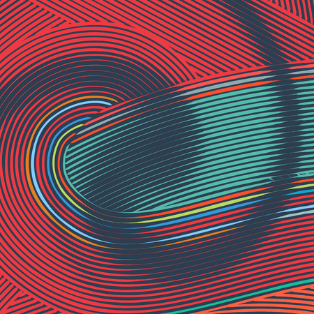 abstract swirl: Abstract background with retro colorful lines flow ornament. Abstract background with colorful lines. Colorful background design. Background with abstract wavy lines. Striped background
