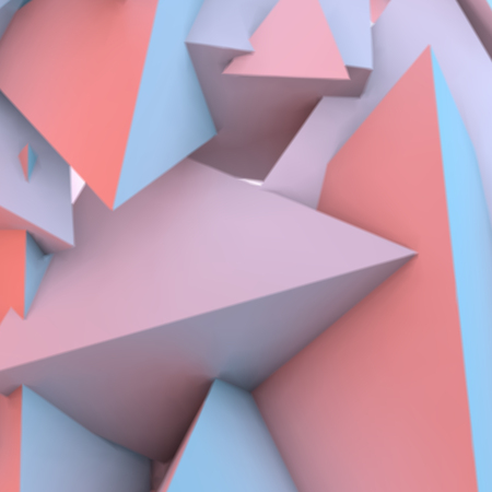 rose quartz: Abstract background with overlapping rose quartz and serenity pyramids Illustration