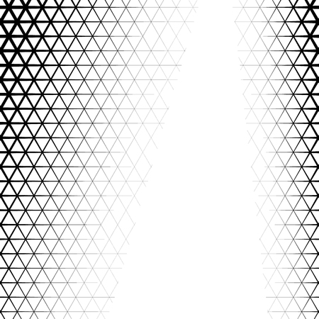 triangle shaped: Background with gradient of triangle shaped grid
