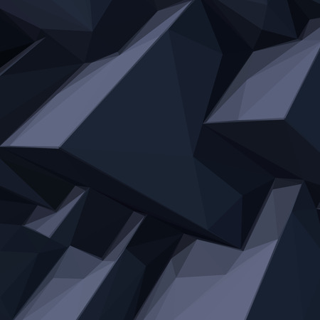 styled: Background with abstract cartoon styled black cubes