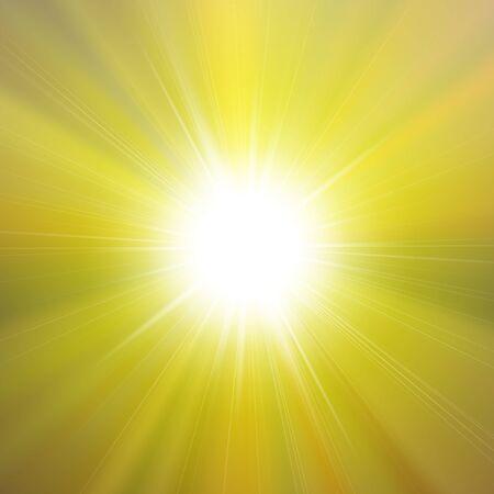 lucero: estrella brillante brillante de la llamarada con el fondo forrado