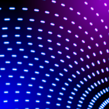 Bright neon lines background with 80s style and short strokes direction
