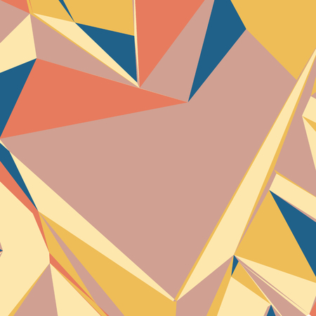 handphone: Abstract background with colorful triangles for magazines, booklets or mobile phone lock screen