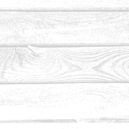 wood planks: Background with white wood grungy dotwork textured planks