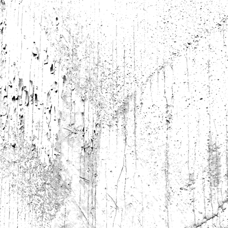 concrete texture: White background with aged paint and plaster on the wood texture Illustration